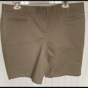 Pants - EUC 14 Pet 2 Lands End Khaki Shorts
